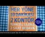Türkcell TOSUN İLE YABANCI DAMAT HASRET 10 dakikası 2 kontör