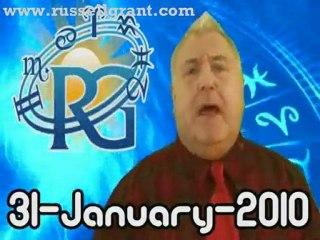 RussellGrant.com Video Horoscope Aries January Sunday 31st