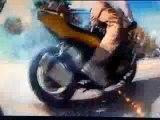 Cascades en motos