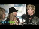 Duff McKagan Velvet Revolver Supermodel Susan Holmes
