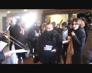 Pré enterrement à l'IUFM de Bonneuil (94)