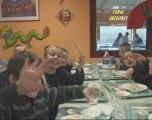 Repas du nouvel chinois au restaurant municipal
