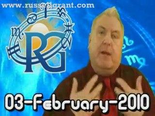 RussellGrant.com Video Horoscope Virgo February Wednesday 3r
