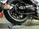 Tourne roue vpc bike moto bmw F800R