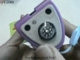 Solar Flashlight For Mobile phones MP3 Players With Solar Ch