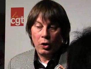 Bernard Thibault sur la retraite le 27 janvier 2010