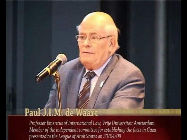 Seminar Russell Tribunal on Palestine-16 December 2009
