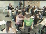 Course de canoë en classe - Tribu Respirando Haute-Loire