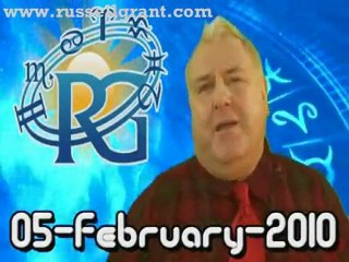 RussellGrant.com Video Horoscope Pisces February Friday 5th