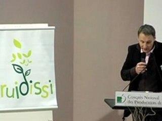 Lancement Fruidissi lors du Congrès 2010 de la FNPFruits