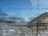 Paysages de neige dans la vallée d'Aure