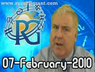 RussellGrant.com Video Horoscope Capricorn February Sunday 7
