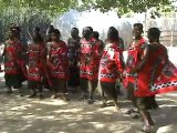 Afrique du Sud  Village de Matsamo - Chants