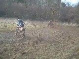 course banshee vs CR 250 125