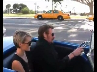 johnny hallyday 07.02.2010 hot rod a los angeles