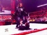 WWE Raw 01.02.10 Batista & Vince vs Bret Hard & John Cena
