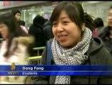 Des chinois reviennent pour le nouvel an chinois