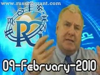 RussellGrant.com Video Horoscope Libra February Tuesday 9th