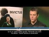 Invictus, Matt Damon e Morgan Freeman parlano del film