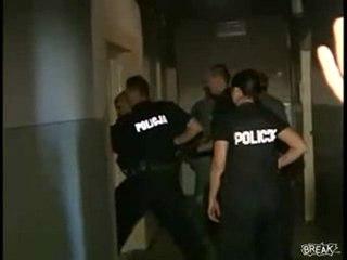 Spettacolare Arresto Della Polizia Polacca
