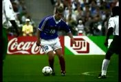 Zinedine Zidane le magicien du football