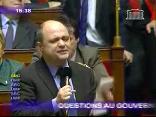 Bruno Le Roux question au gouvernement  éducation nationale