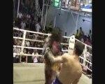 Roan Morrison Muay Thai Fight For Sinbi Muay Thai, Thailand