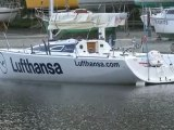 Figaro Bénéteau - Lufthansa Sailing Team - Port St Brieuc