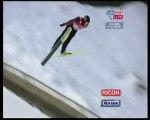 Saut a ski français willigen K130 Saut par Equipe 7/02/10