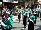 Fêtes des fleurs à Chiang Mai / Fanfares Défilé 1 / Thailand