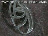Sterling silver Charles Rennie Mackintosh Necklace DWA386