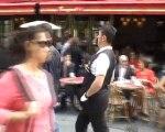 Sylvio Bolinio  c etais le suiveur des Champs Elysee