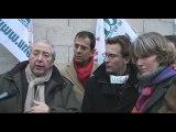 Jean-Paul Huchon à la résidence universitaire d'Antony