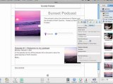 Part IVb How to Podcast from Your Mac with iWeb and iTunes