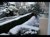 neige au havre le 11 fevrier 2010