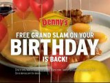 Denny's Birthday Slam Super Bowl Ads 2010 Commercials All 3