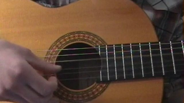 The Weary Kind Picking Pattern