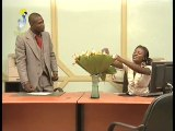 JOE ET LAOU Dispute autour d'un bouquet de fleurs TCHADONLIE