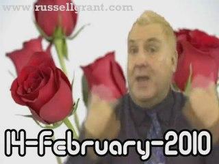 RussellGrant.com Video Horoscope Aquarius February Sunday 14