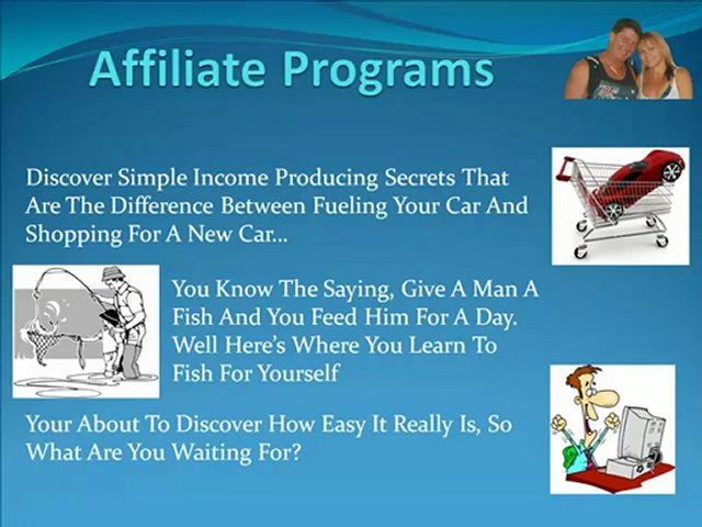 Marketing Affiliate Products