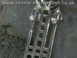 Sterling silver Charles Rennie Mackintosh necklace DWA350