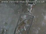 Sterling silver Charles Rennie Mackintosh necklace DWA186