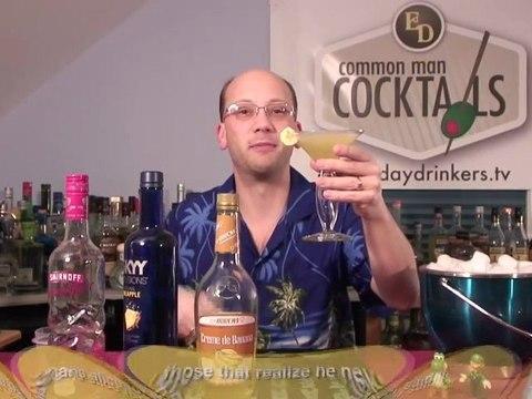 Banana Night Martini