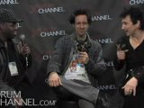 John Blackwell, Glen Sobel & Terry Bozzio - NAMM 2010