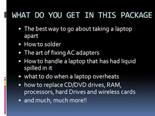 how to repair laptop – How to change keyboard