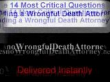 Wrongful Death Law Firms Fresno, Wrongful Death Lawsuits Fr