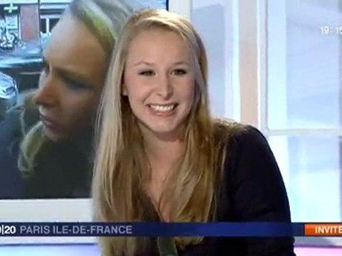 Marion Maréchal-Le Pen sur France 3