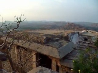 India - Hampi - Landscape from the top of the hill
