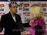 ROBBIE WILLIAMS INTERVISTA BRITS 2010 BACKSTAGE