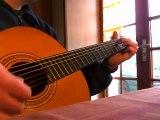 je débute a la guitare!!!
